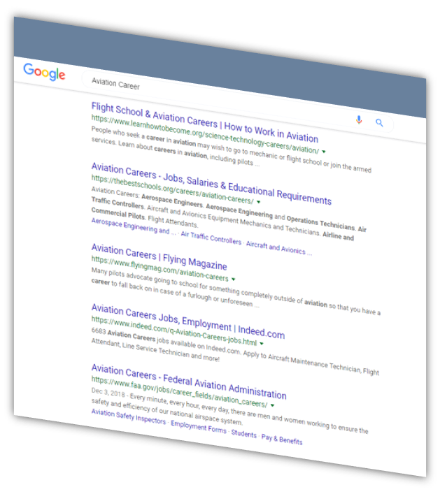 Aviation Industry and Pilot Targeting | Choozify